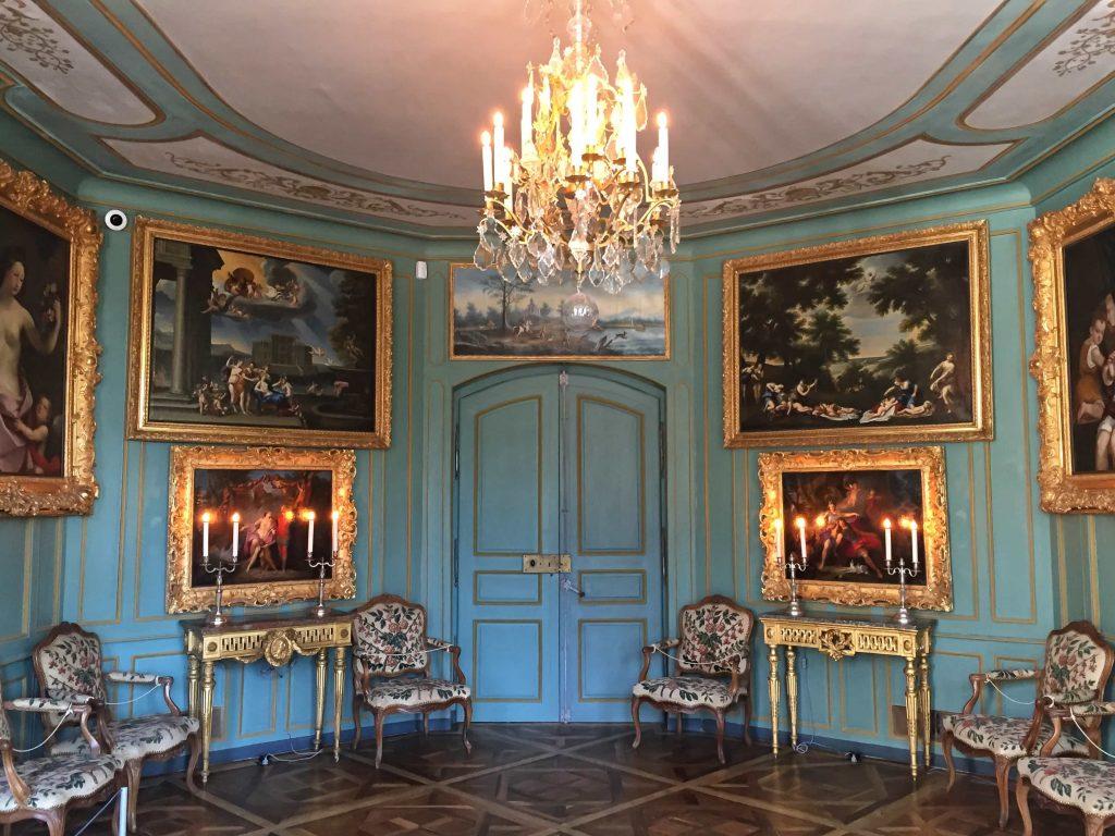 francia kastély szoba